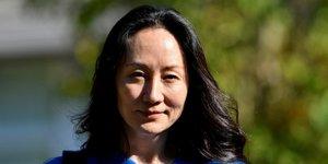 Accord entre les usa et meng wanzhou  huawei  sur les accusations de fraude bancaire