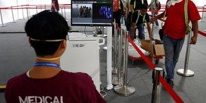 Aerien: previsions assombries en asie, le coronavirus vide le salon de singapour