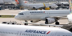 Air france prevoit d'assurer trois quarts de ses vols vendredi