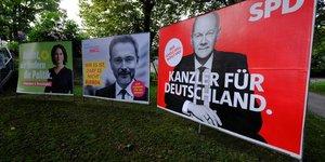 Allemagne: discussions & 34 constructives& 34  entre le spd et le fdp