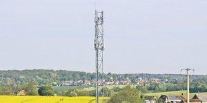 antenne, France, régions, télécoms, campagne,