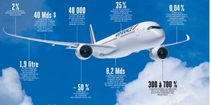 aviation, infographie, pollution, H296