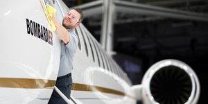 Avion d'affaires Bombardier Global 7500