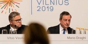 BCE Mario Draghi Vilnius 2019
