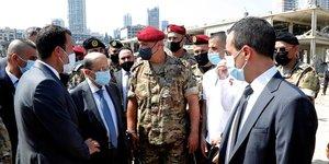 Beyrouth en etat de choc, le bilan de l& 39 explosion depasse 100 morts