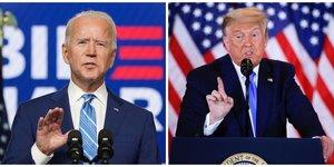 Biden avance a petits pas vers la victoire, trump multiplie les recours