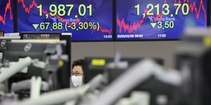 Bourse, Asie