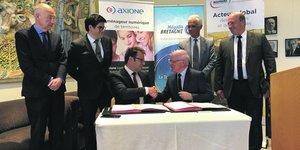 Bouygues Énergies & Services et la société Axione