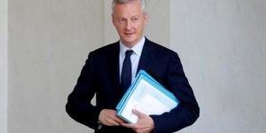 Bruno Le Maire, attractivité, ministre de l'Economie et des Finances, Edouard Philippe, Emmanuel Macron, droite,