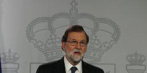 Catalogne: rajoy evoque la constitution pour stopper l'independance