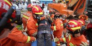 Chine: l'effondrement d'un hotel a fait au moins dix morts