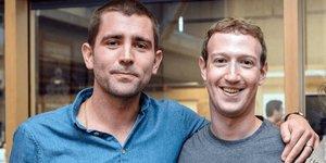 Chris Cox et Mark Zuckerberg