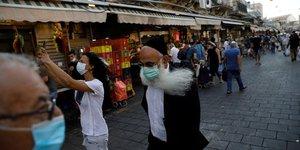 Coronavirus: entree en vigueur en israel d& 39 un nouveau confinement national