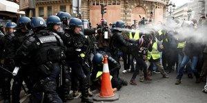 CRS, policiers, gendarmerie
