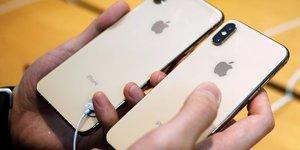 Des composants intel, toshiba, stm dans les nouveaux iphone