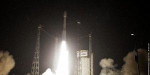 Deuxième lancement du lanceur européen Vega