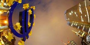 Euro, BCE, Union européenne, Francfort, monnaie,