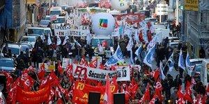 grève et manifestations