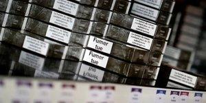 Hausse moyenne de 35 centimes du paquet de cigarettes lundi