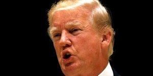"""""""je ne suis pas raciste"""", dit donald trump"""