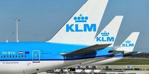 Klm, filiale d'air france-klm, va supprimer 1.100 postes