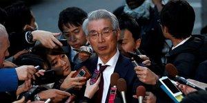L'avocat japonais Junichiro Hironaka a annoncé, jeudi 16 janvier 2020, le retrait de tout son cabinet de l'ensemble du dossier Ghosn
