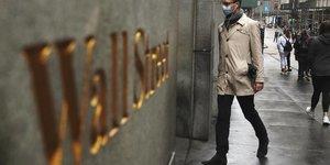 La bourse de new york termine en nette baisse