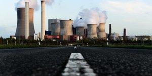 La centrale au lignite de Niederaussem  Allemagne
