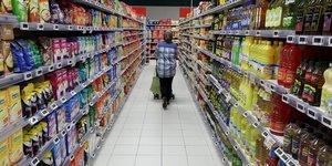 La consommation des menages rebondit en janvier