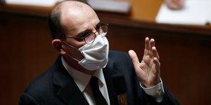 "La france a pre-commande ""de quoi vacciner 100 millions de personnes"" contre le covid-19, dit castex"