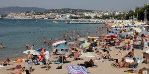 La plage de la croisette de cannes bientot deux fois plus grande