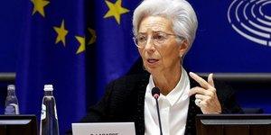 Lagarde  bce  evoque un objectif d& 39 inflation plus flexible
