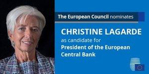 Lagarde Christine FMI BCE Europe