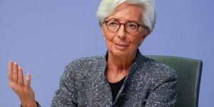 Lagarde: la bce privilegie les achats d'obligations pour soutenir l'economie