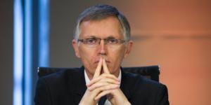 Le patron de PSA Peugeot Citroen Carlos Tavares en juillet 2015