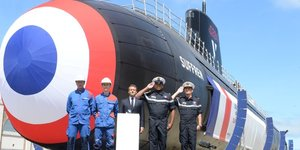 Le Suffren sous-marin nucléaire d'attaque (SNA) Marine nationale Naval Group