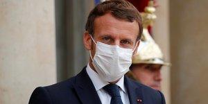 Macron appelle a l& 39 unite face aux tensions avec le moyen-orient