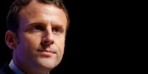 Macron et le pen a egalite pour le 1er tour, selon un sondage opinionway