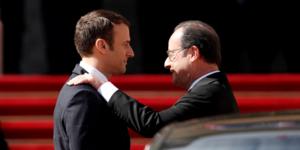 Macron, Hollande, Elysée, adieux, passation de pouvoir,