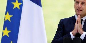 Macron promet 15 milliards d'euros pour la conversion ecologique