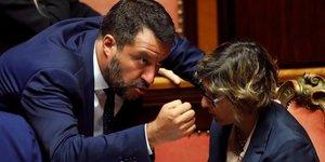 Salvini, Italie, Ligue, extrême-droite