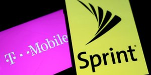 T-mobile us rachete sprint par echange d'actions