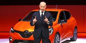 Thierry Bolloré, Renault