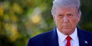 """Trump est """"fatigue mais de bonne humeur"""", dit son medecin"""