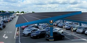 Urbasolar installe une centrale solaire gEante A Disneyland Paris