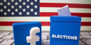 """Usa 2020: facebook supprimera les messages """"militarises"""" en lien avec le scrutin"""