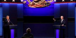 Usa 2020: le premier debat trump-biden moins suivi que celui de 2016