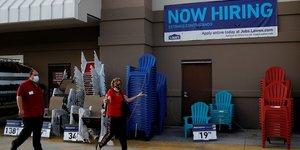 Usa: rebond inattendu de l'emploi en mai