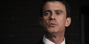 """Valls """"preoccupe"""" par l'avenir de la france, pas de la gauche"""