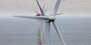 Vattenfall, parc éolienne en mer, offshore, électricité renouvelable,